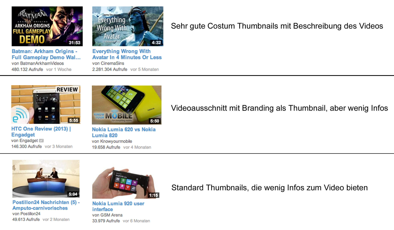 Thumbnail Vergleich