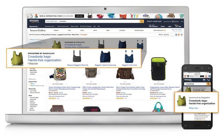 Amazon Advertising, Headline Search Ad