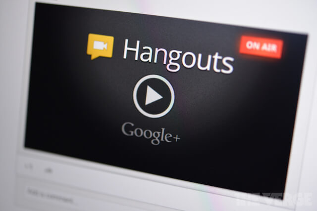 Screenshot Hangouts on Air