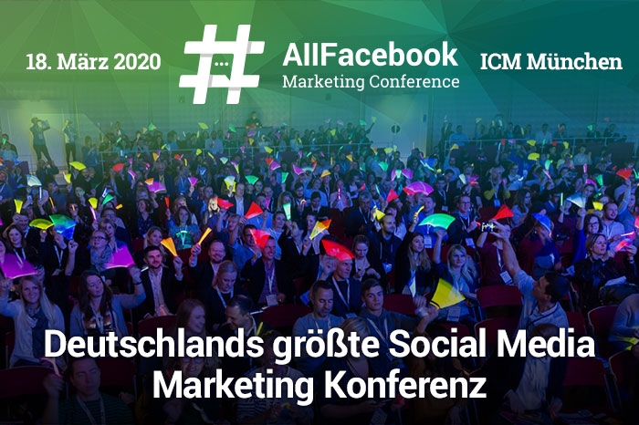 All Facebook Marketing Konferenz, Social Media Konferenz