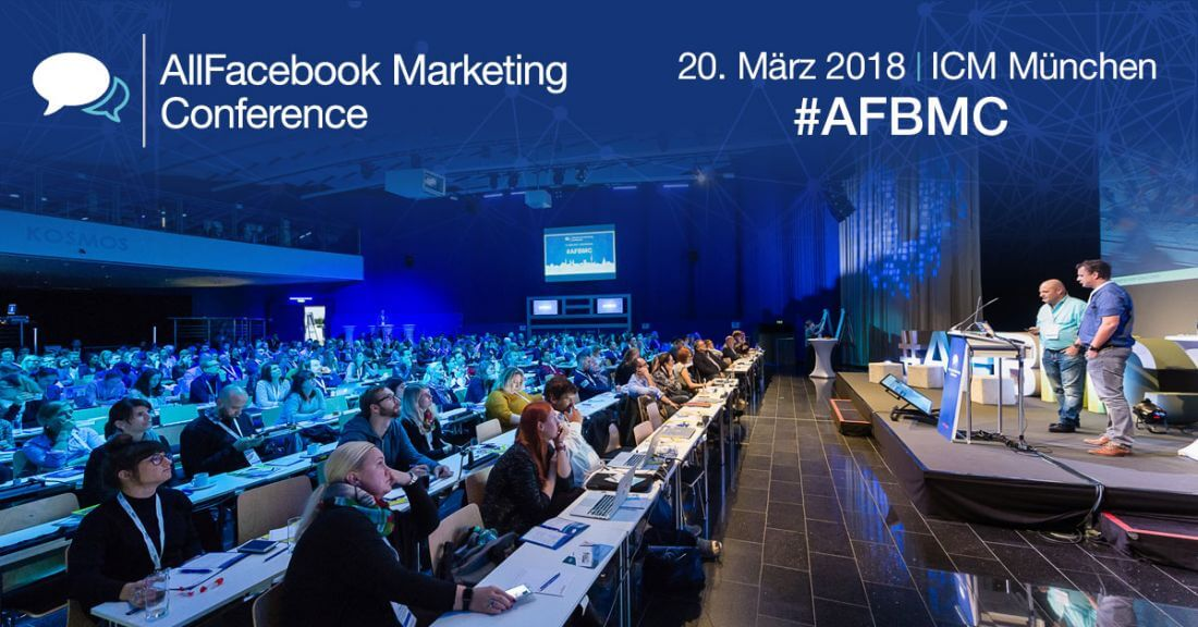 afbmc 2018, all facebook marketing konferenz, facebook konferenz, social media konferenz, social media münchen