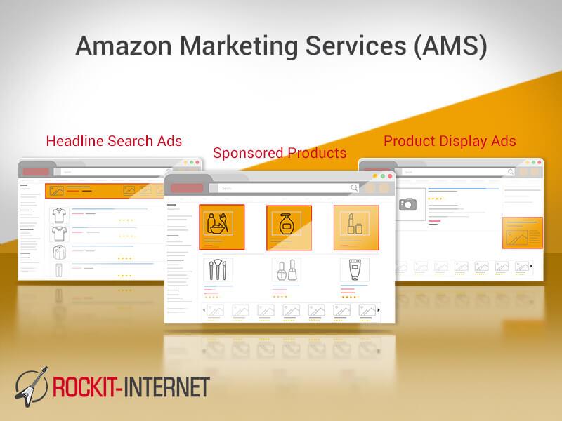 Amazon Marketing Services, Amazon, Anzeigen, Werbung, Werbeanzeigen