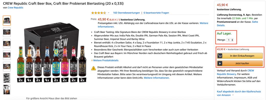 Buy-Box Amazon