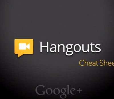 Google Hangouts Cheat Sheet