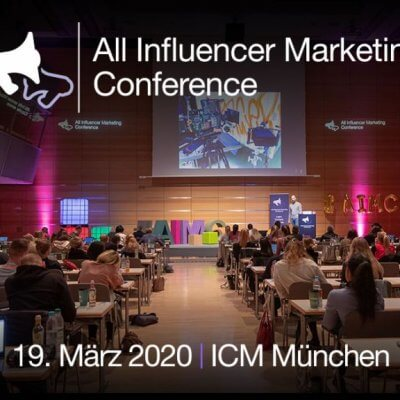 Influencer Marketing Konferenz