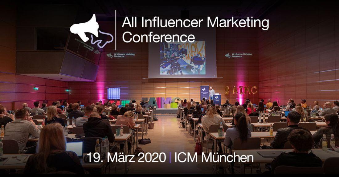 Influencer Marketing Konferenz