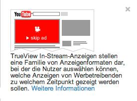 TrueView-In-Stream-Anzeigen