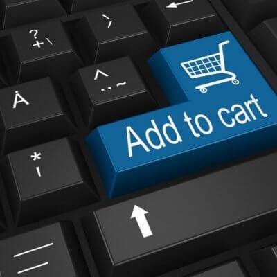 Symboltaste add to cart