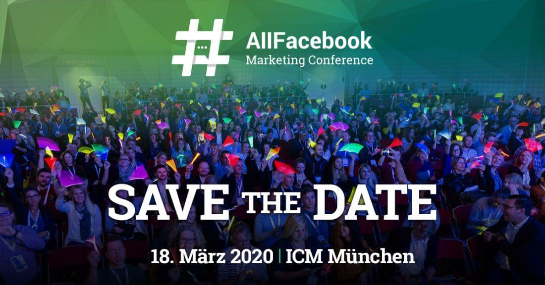 AFBMC 2020, Facebook Marketing Konferenz