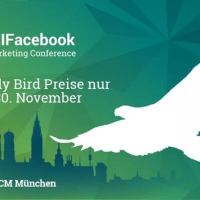 All Facebook Konferenz, afbmc early bird, AFBMC 2019