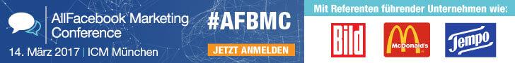 Tickets zur AFBMC 2017 in München