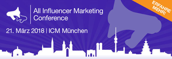 Influencer Marketing, Anmelden AIMC
