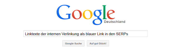 Bild Interne Verlinkung Google