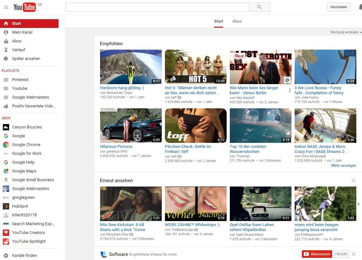 Youtube Studie 100 Erfolgsfaktoren